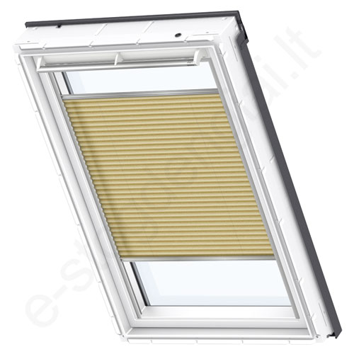 Velux klostuota užuolaidėlė FHL 810 1263 Metallic gold stilius