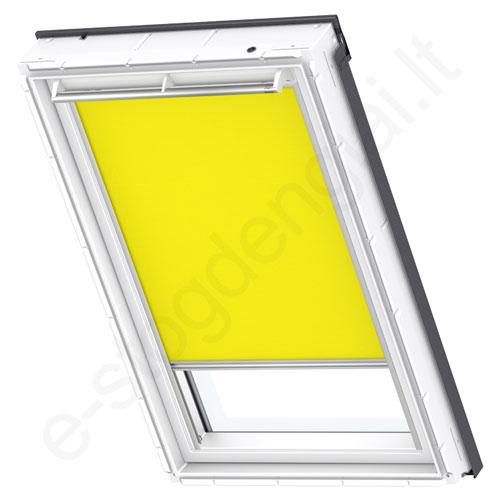 Velux ritininė užuolaidėlė RFL 308 4073 Bright yellow stilius
