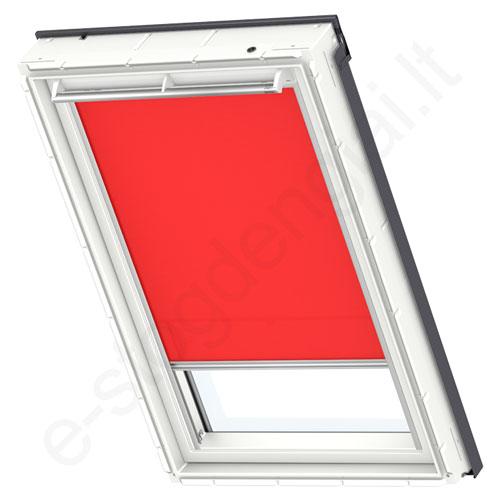 Velux ritininė užuolaidėlė RFL 206 4159 Bright red stilius