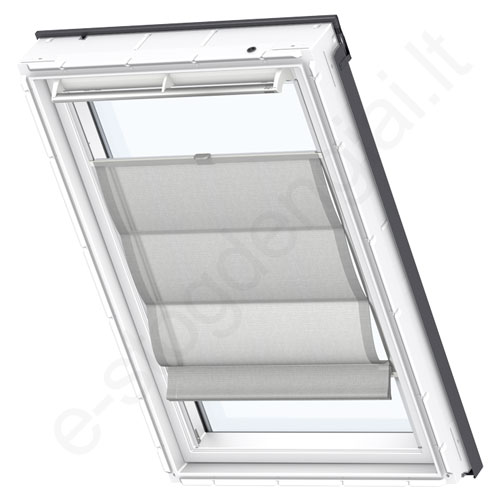Velux romanetė FHB PK04 6516 Structured grey stilius