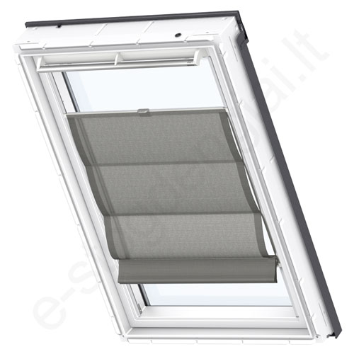 Velux romanetė FHB C04 6519 Structured black stilius