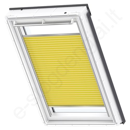 Velux šilumą taupanti užuolaidėlė FHC 406 1160 Yellow stilius