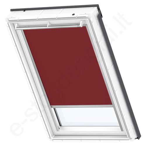 Velux tamsinanti užuolaidėlė DKL 804 4560 Dark red stilius