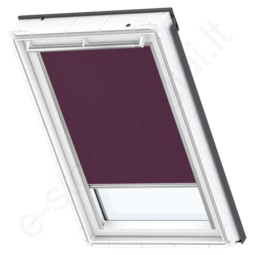 Velux tamsinanti užuolaidėlė DKL 804 4561 Dark purple stilius