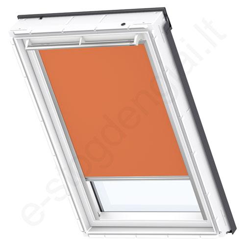 Velux tamsinanti užuolaidėlė DKL S10 4564 Orange stilius