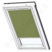Velux tamsinanti užuolaidėlė DKL MK10 4567 Olive green stilius