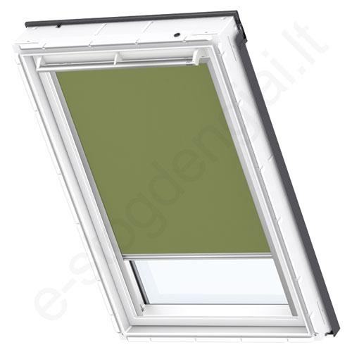 Velux tamsinanti užuolaidėlė DKL S10 4567 Olive green stilius