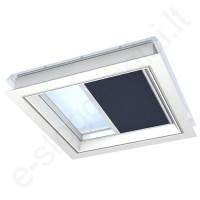 Velux FMG klostuota užuolaidėlė 60x60 1265 T.Mėlyna (Metallic Blue) elektrinė