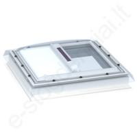 Velux MSG išorinė markizė nuo saulės 60x60 6090 Balta (langams su kupolu)