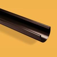 Latakas 100/75 3m Rudas (Ral 8017) Wavin Kanion plastikinis, vnt