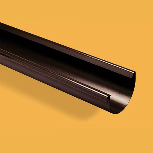 Latakas 160/110 2m Rudas (Ral 8017) Wavin Kanion plastikinis, vnt