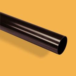 Lietvamzdis 100/75 2m Rudas (Ral 8017) Wavin Kanion plastikinis, vnt